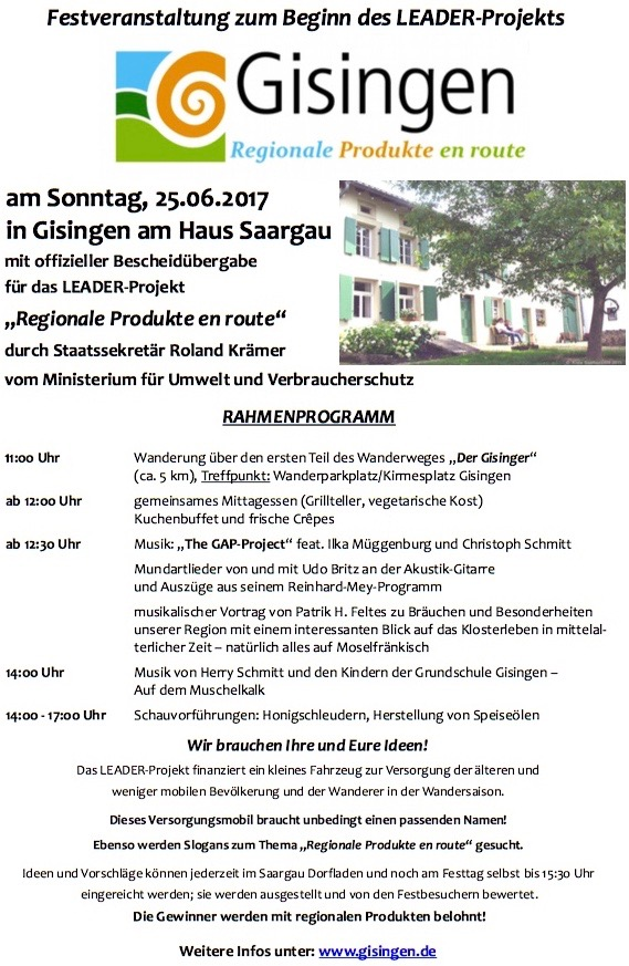 25.06.2017 Haus Saargau