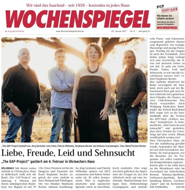 Uhrmachers Haus Wochenspiegel-Bericht